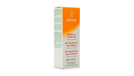 Gel dental infantil weleda lateral